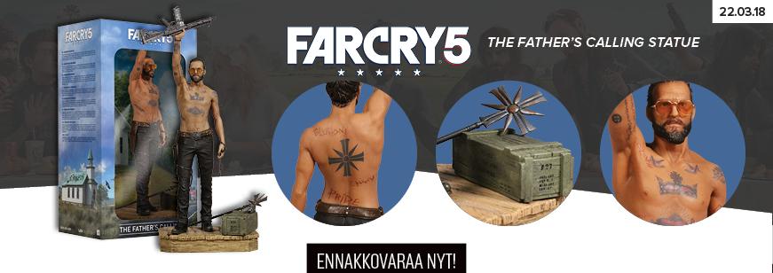 far cry 5, far cry 5 statue, far cry statue, the fathers calling, father, father calling statue
