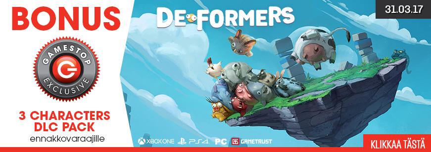 Deformers Pre Order Bonus