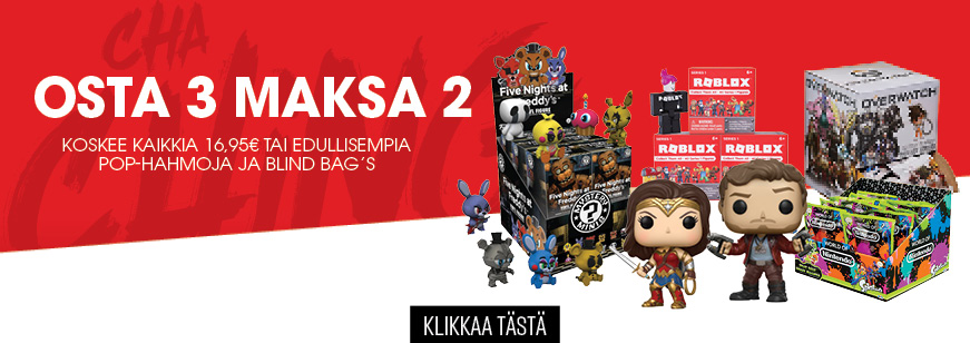 3 For 2 on Select Pop Vinyl Figures