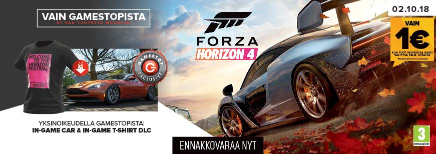 Pre-Order Forza Horizon 4