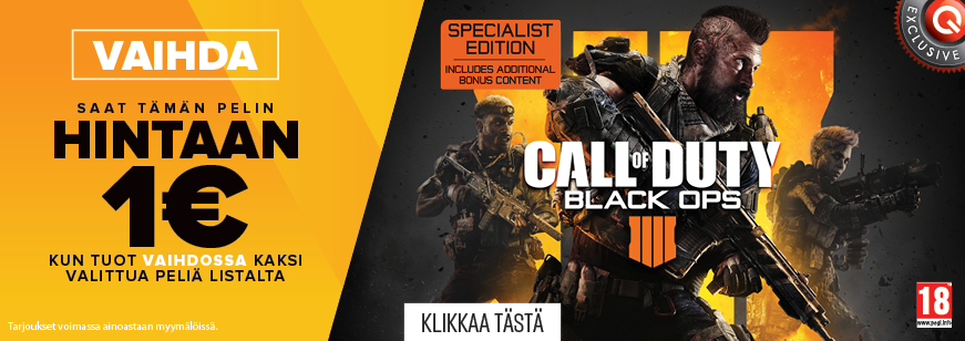 Call Of Duty: Black Ops 4 1€ Trade Offer, Call Of Duty: Black Ops 4, Call of Duty Black ops 4 trade, Call of Duty Black ops 4 trade deal