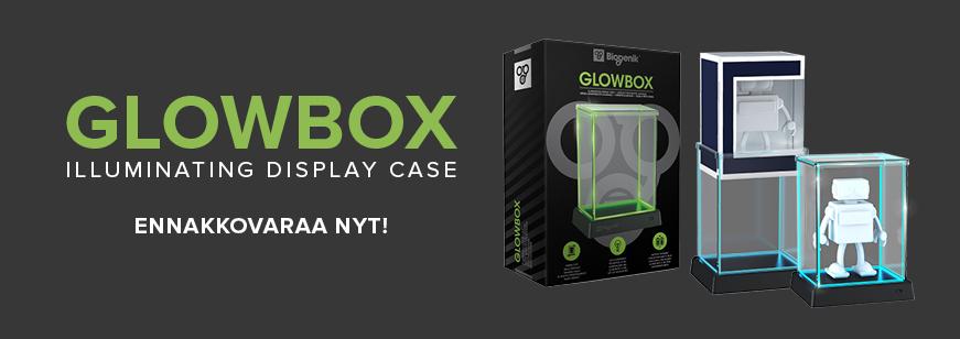glowbox, pop vinyl case, glowbox cases, funko display case