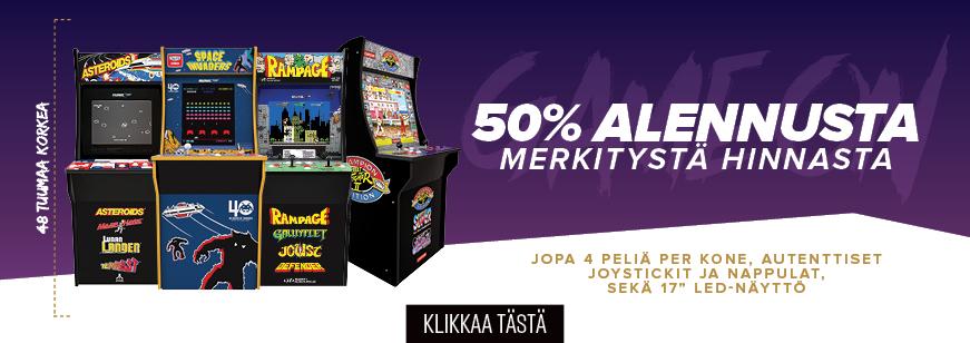 Get 50% OFF 1Up Arcade Machine for Christmas