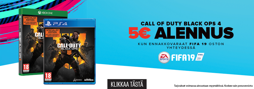 Call Of Duty: Black Ops 4 Pre-Order Offer