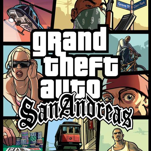 GTA SAN AND PS2