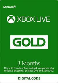 Xbox Live Gold 3 Month Subscription [DIGITAALINEN]