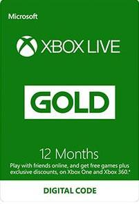 Xbox Live Gold 12 Month Subscription [DIGITAALINEN]