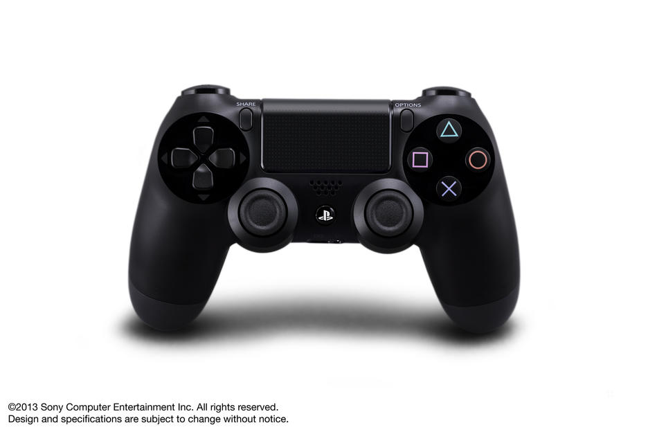 Dualshock®4 Jet Black Wireless Controller