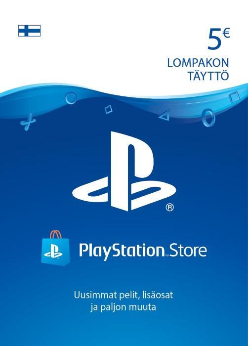 5€ PlayStation®Network-Koodi [DIGITAALINEN]