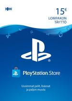 15€ PlayStation®Network-Koodi