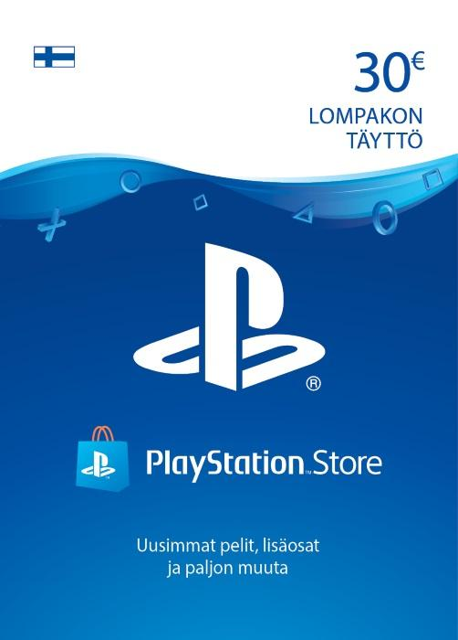 30€ PlayStation®Network-Koodi [DIGITAALINEN]