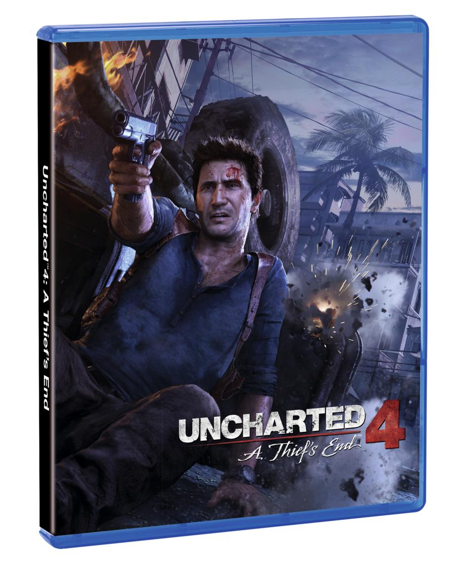Uncharted 4: A Thiefs End GameStop