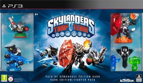 Skylanders Trap Team Darkened Edition Starter Pack ...  Skylanders Trap Team Legendary Starter Pack