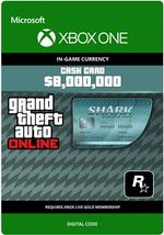 Grand Theft Auto Online: Megalodon Shark Cash Card for Xbox One