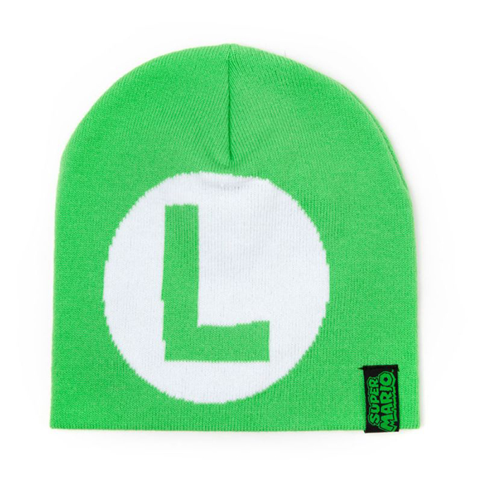 Super Mario Bros  Luigi Beanie Hat GameStop 2a3f0db77ac