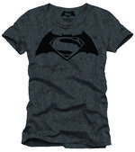 Batman Vs. Superman Logo T-shirt Large