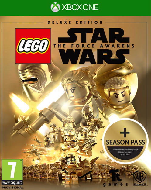 Star Wars Game For Xbox 1 : Lego star wars the force awakens deluxe gamestop
