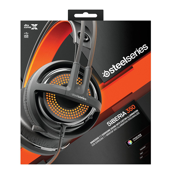 SteelSeries Siberia 350 Gaming Headset [Black]