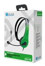 At Play Black/Green Chat Headset Xbox One:lle