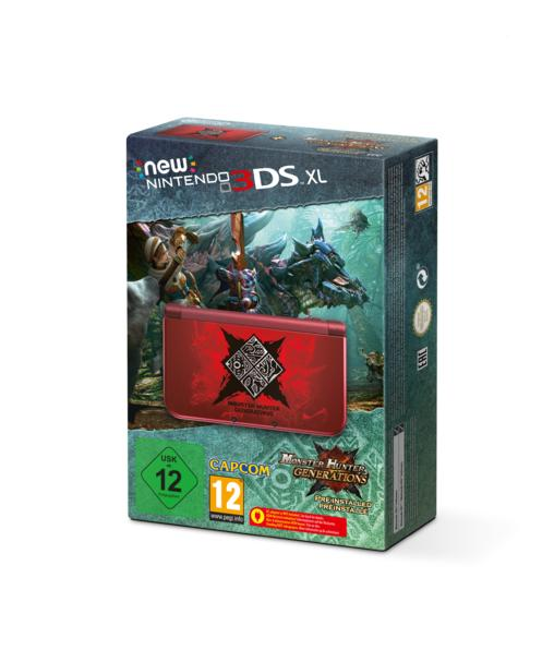 New Nintendo 3DS XL Monster Hunter Generations Edition Console