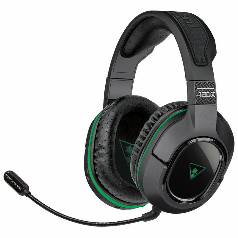 Turtle Beach® Black Ear Force Stealth 420X+ Wireless Headset