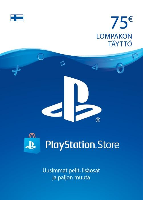 75€ PlayStation®Network-Koodi [DIGITAALINEN]