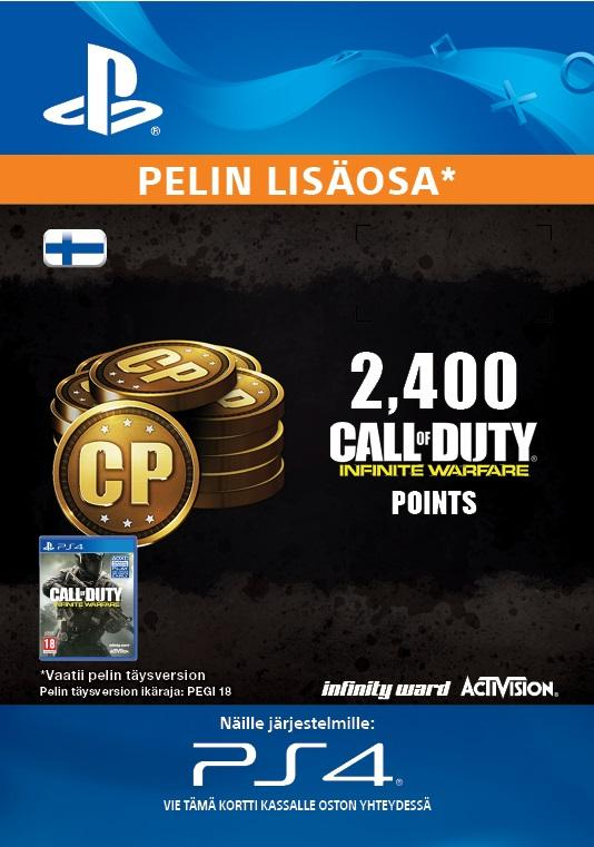 Call of Duty: Infinite Warfare 2,400 Points for PS4 [DIGITAALINEN]