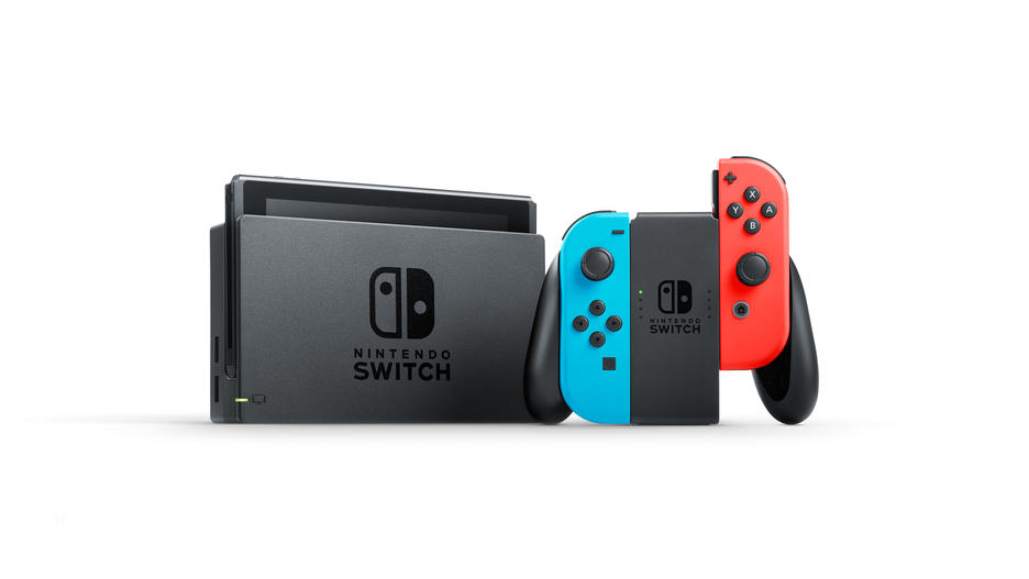 Nintendo Switch™ Red/Blue Konsoli