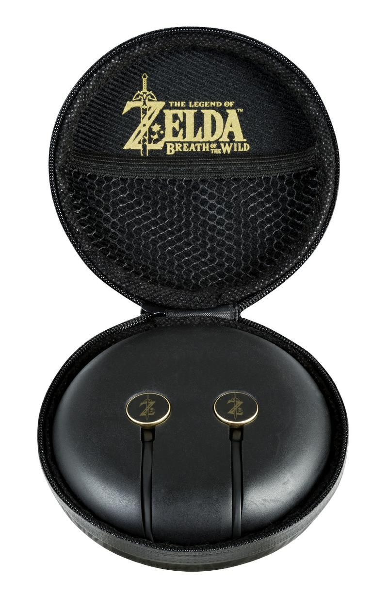 The Legend Of Zelda: Breath Of The Wild - Premium Chat Earbuds