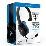 Turtle Beach® Black Recon Chat Headset PS4:lle