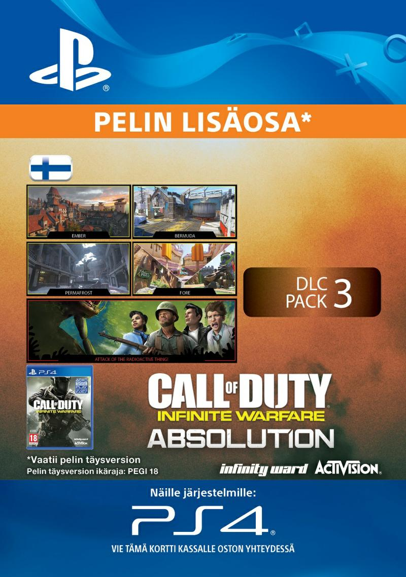 Call of Duty: Infinite Warfare DLC 3: Absolution PS4:lle [DIGITAALINEN]