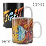 Street Fighter: Ryu & M Bison Heat Changing Mug