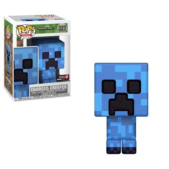 Pop! Games: Minecraft - Charged Creeper [GameStop Exclusive]