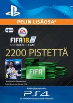 FIFA 18 Ultimate Team - 2200 Points PS4:lle