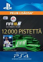FIFA 18 Ultimate Team - 12000 Points PS4:lle