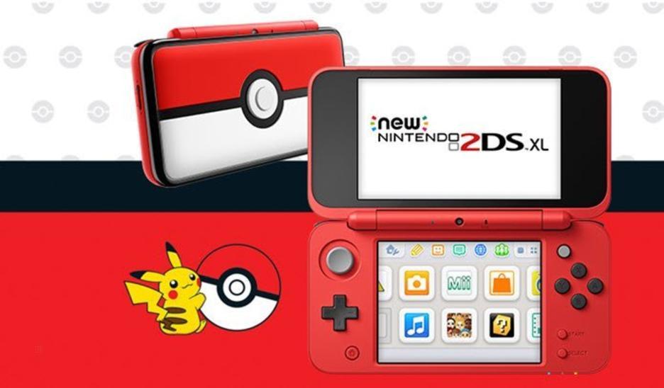 Nintendo 2ds Black Friday >> Nintendo 2DS XL Pokeball Edition Console GameStop