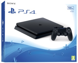 Playstation 4 500GB Black Console