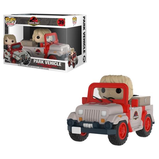 Pop! Games: Jurassic Park - Park Vehicle