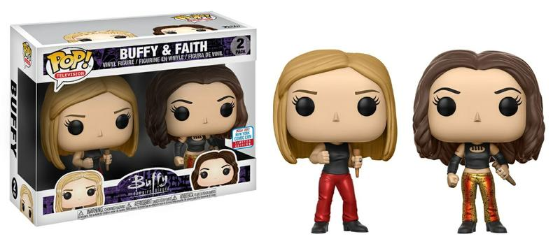 POP! Buffy The Vampire Slayer - Buffy & Faith 25th Anniversary [New York Comic Con Exclusive]
