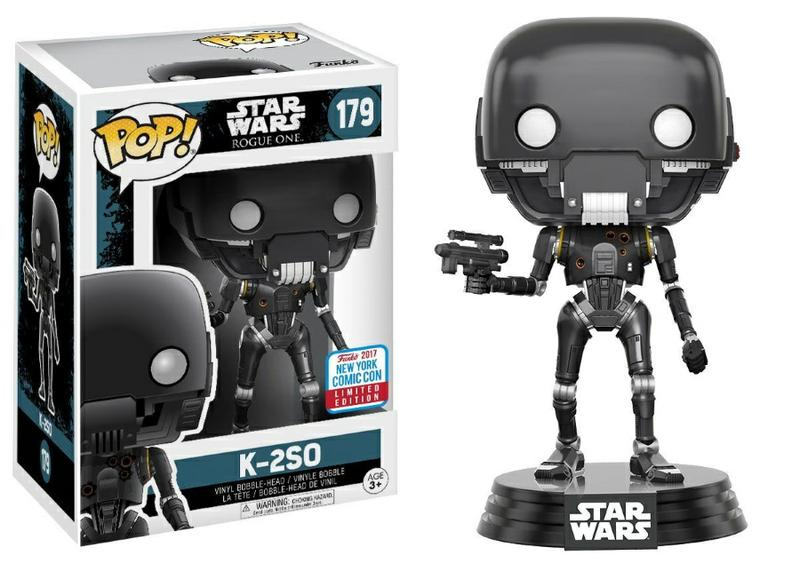 Pop! Star Wars: Rogue One - K2SO Battle Damaged [New York Comic Con Exclusive]