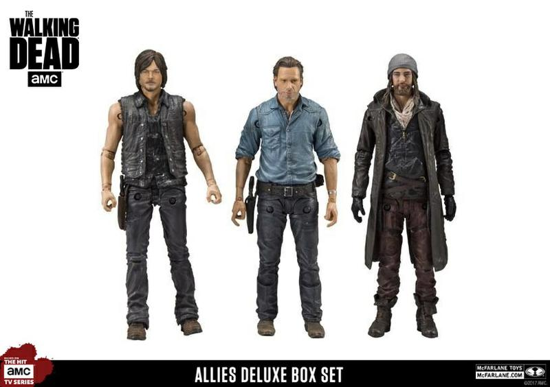 The Walking Dead: Allies Deluxe Box Set