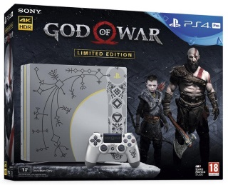 Playstation 4 Pro 1TB God of War Limited Edition Console