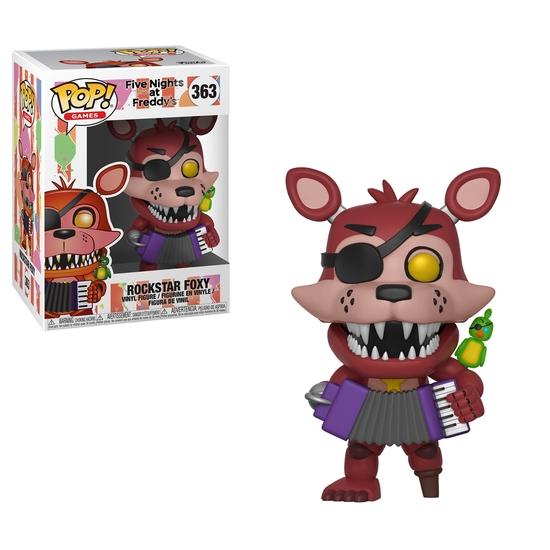 Pop! Games: Five Nights at Freddy's Pizzeria Simulator - Rockstar Foxy