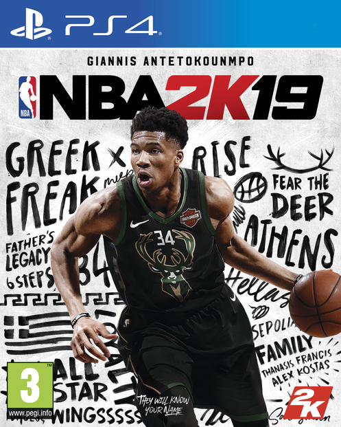 NBA 2K19 Steelbook Edition [Vain GameStopista]