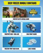 Fortnite: Deep Freeze Bundle Xbox One:lle