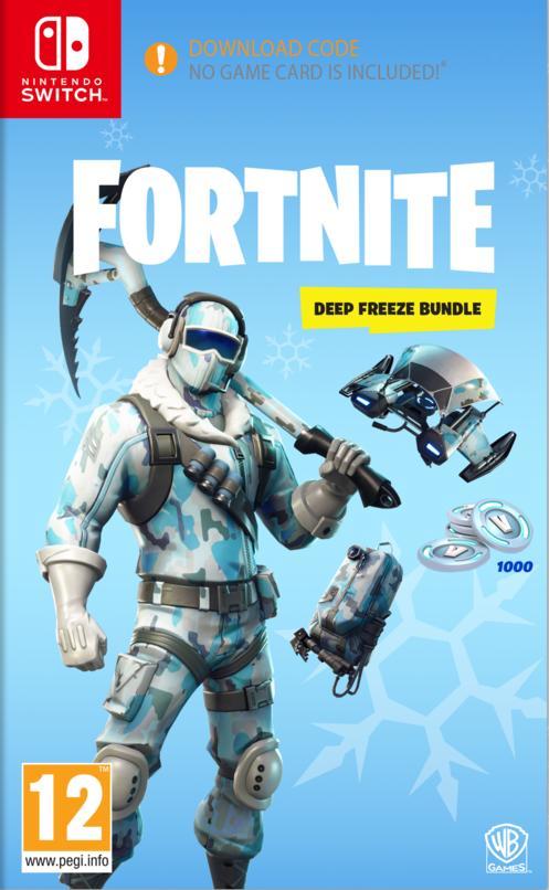 Fortnite: Deep Freeze Bundle Switch:lle