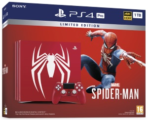 Playstation 4 Pro 1TB Marvel's Spider-Man Limited Edition Console