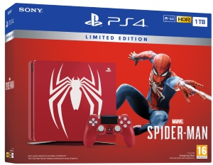 Playstation 4 1TB Marvel's Spider-Man Limited Edition Konsoli