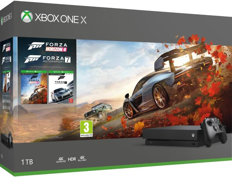 Xbox One X 1TB Konsoli Ja Forza Horizon 4
