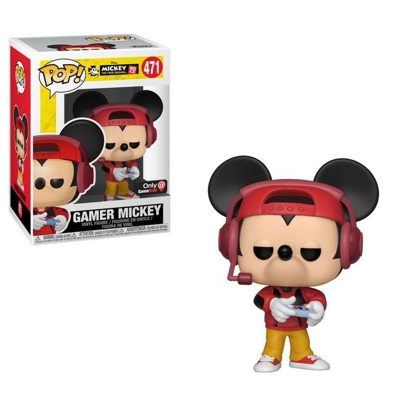 Pop Disney: Mickey's 90th Birthday - Gamer Mickey [Vain GameStopista]